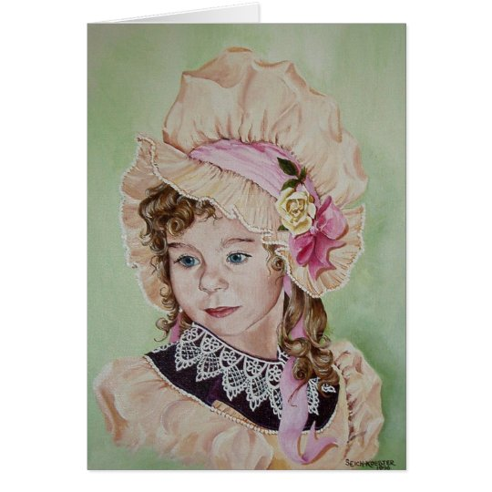 My special Bonnet Card