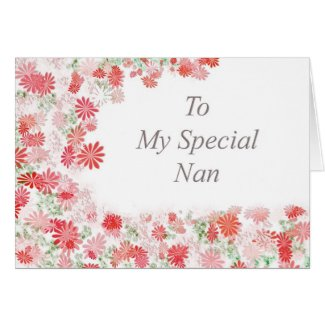 My Special Nan Card