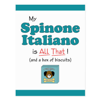 My Spinone Italiano is All That! Postcard