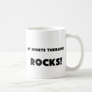 MY Sports Therapist ROCKS! Coffee Mugs