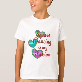 My Square Dancing Passion T Shirts