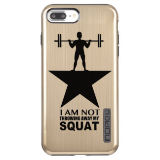 My Squat Male Gold Phone Case