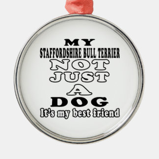 My Staffordshire Bull Terrier Not Just A Dog Christmas Ornament