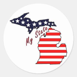 My State: Michigan Sticker