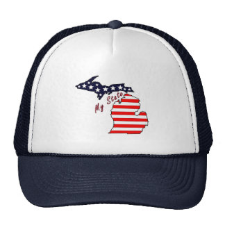 My State: Michigan Trucker Hat