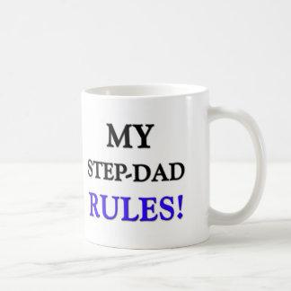 My Step-Dad Rules Coffee Mugs