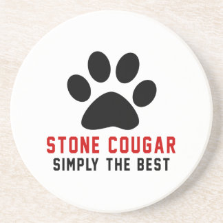 My Stone cougar Simply The Best Beverage Coasters