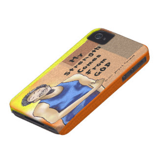 My Strength comes from God Case-Mate iPhone 4 Cases