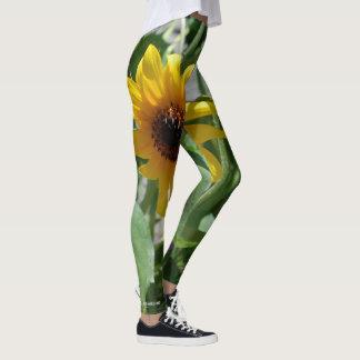 My sunflower leggings