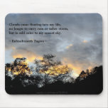 My Sunset Sky/ Tagore Quotes Mousemat