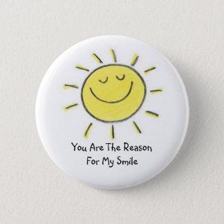 My Sunshine 6 Cm Round Badge