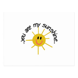My Sunshine Postcard