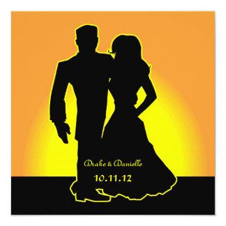"My Sunshine Wedding Invitation 5.25"" Square Invitation Card"