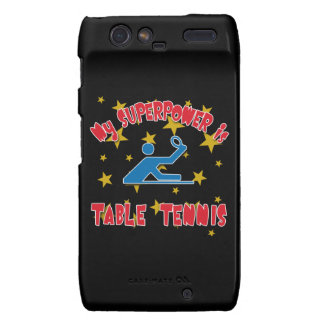 My Superpower is Table Tennis Droid RAZR Covers