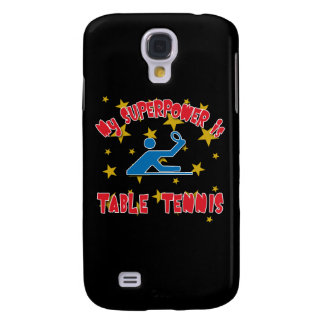 My Superpower is Table Tennis Galaxy S4 Covers