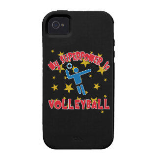 My Superpower is Volleyball Vibe iPhone 4 Case