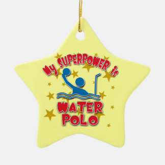 My Superpower is Water Polo Christmas Ornament