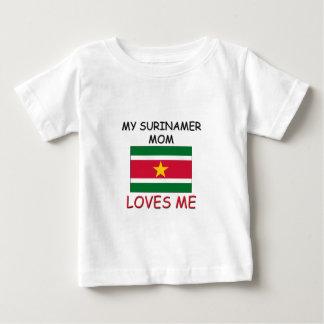 My Surinamer Mom Loves Me Baby T-Shirt