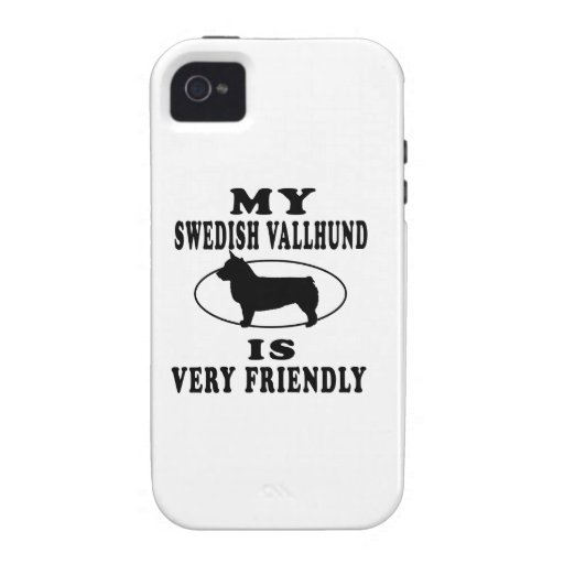 My Swedish Vallhund is very friendly iPhone 4/4S Cases
