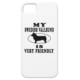 My Swedish Vallhund is very friendly iPhone 5 Covers