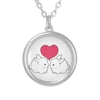 My Sweet Bunny Love Vengeance Silver Plated Necklace