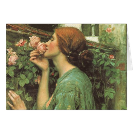 My Sweet Rose, or Soul of the Rose by Waterhouse Card