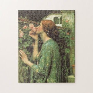 My Sweet Rose, or Soul of the Rose by Waterhouse Jigsaw Puzzle