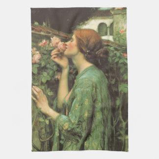 My Sweet Rose, or Soul of the Rose by Waterhouse Towel