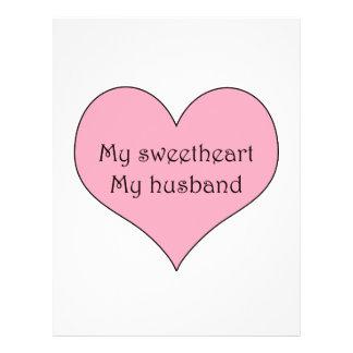My Sweetheart My Husband 21.5 Cm X 28 Cm Flyer