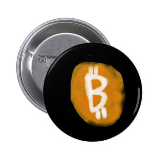 My take on Bitcoin Logo 6 Cm Round Badge