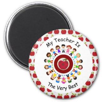 My Teacher Is The Very Best  Magnet