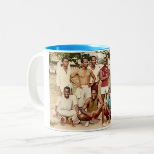 My Team Beat Your Team-V2 Two-Tone Coffee Mug