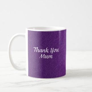 My Thank You Mum 2 Basic White Mug