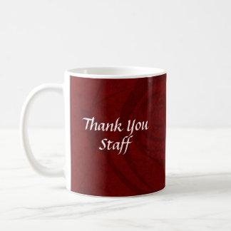 My Thank You Staff Basic White Mug