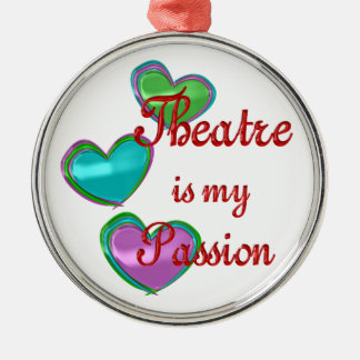 My Theatre Passion Christmas Ornament