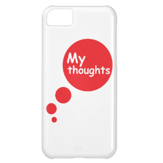 My Thoughts iPhone 5C Cases
