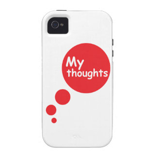 My Thoughts iPhone 4 Cases
