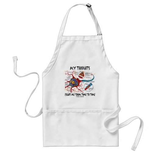 My Thoughts Escape Me From Time To Time Aprons