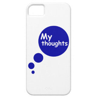 My Thoughts iPhone 5 Covers