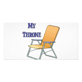 My Throne Photo Card