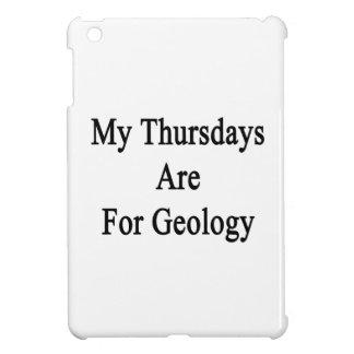 My Thursdays Are For Geology iPad Mini Case