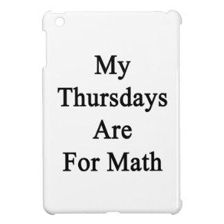 My Thursdays Are For Math iPad Mini Cover