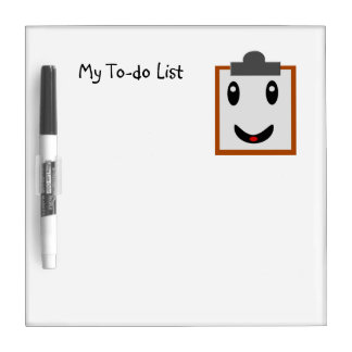 My To-do List Dry Erase Board