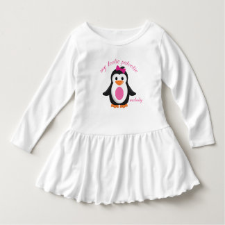 My Tootie Patootie Girly Penguin Personalized Dress