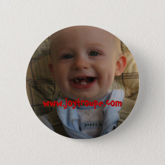 my top teeth, www.joytroupe.com 6 cm round badge