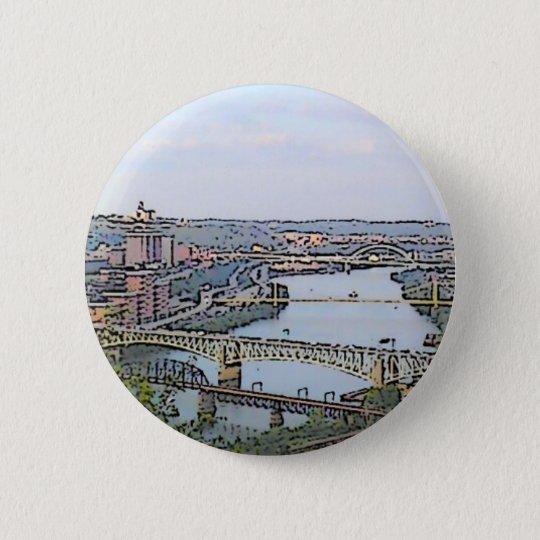 My Town 6 Cm Round Badge