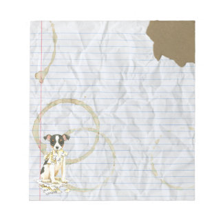 My Toy Fox Terrier Ate my Lesson Plan Notepad