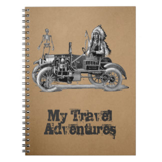 My travel adventures notebooks