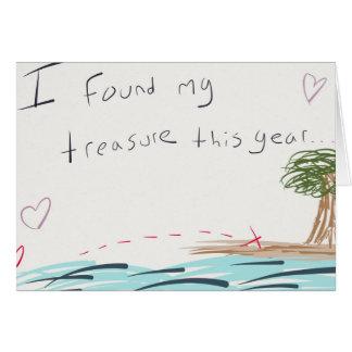 My Treasure Valentine s Day Card