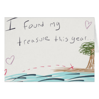 My Treasure Valentine's Day Card